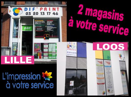 Dif Print Votre Imprimeur Lille Et Loos